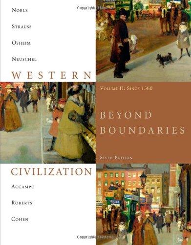 9781424069620: Western Civilization: Beyond Boundaries, Volume 2 Since 1560