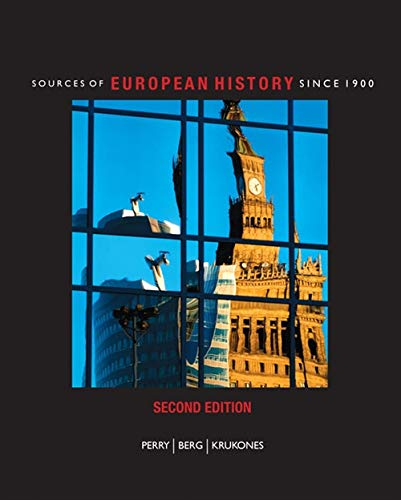 9781424069675: Sources of European History: Since 1900