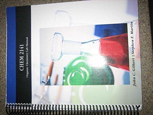 9781424069842: CHEM 2141 Organic Chemistry Lab Manual