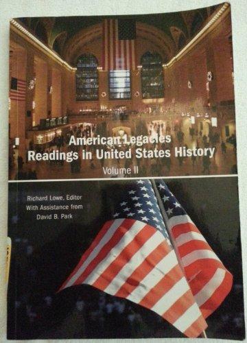 AMERICAN LEGACIES VOL 2: LOWE