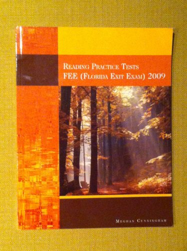 9781424070923: Reading Practice Tests FEE (Florida Exit Exam) 2009