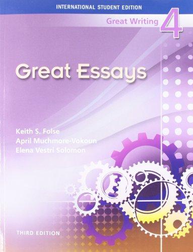9781424071142: International Student Edition Great Writing 4, 3e