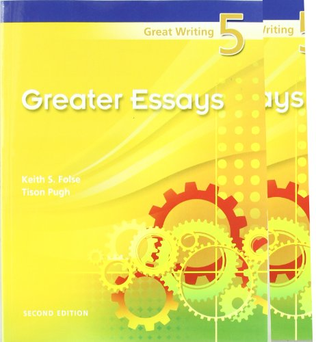 Great Writing    From Great Essays to Research  Keith S  Folse  Tison Pugh                  Amazon com  Books