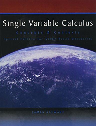 9781424073726: SINGLE VARIABLE CALCULUS >CUST