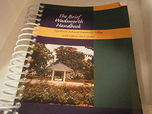 9781424075379: The Brief Wadsworth Handbook (Fayetteville Technical Community College)