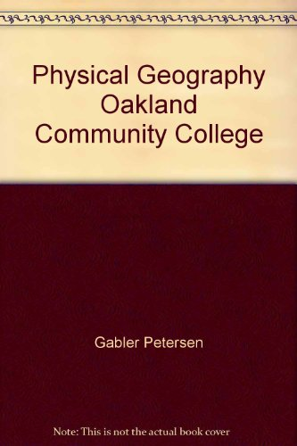 9781424076741: Physical Geography Oakland Community College