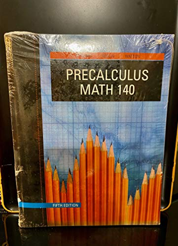 Precalculus: Math 140: James Stewart