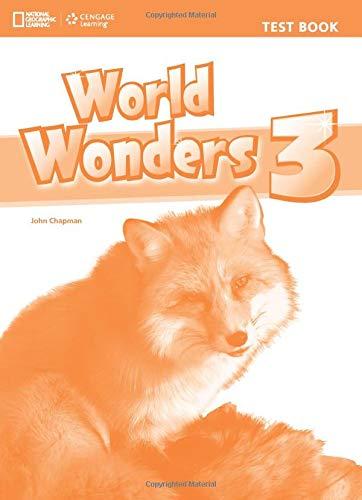 Ng Emea World Wonders 3 Test Book Englis: Crawford