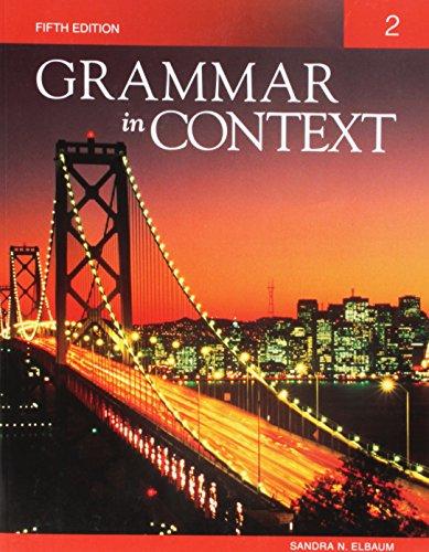 9781424079018: Grammar in Context 2