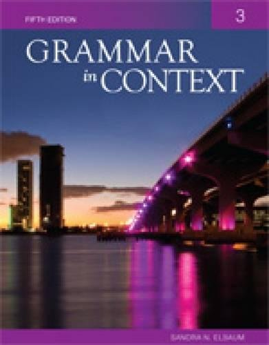 9781424079025: Grammar In Context 3