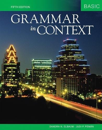9781424079087: Grammar in Context Basic