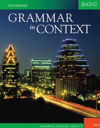 9781424080991: International Student Edition Grammar in Context Basic