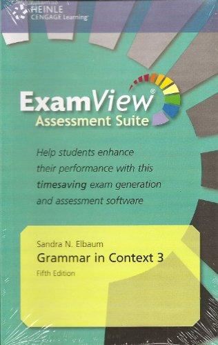 9781424082438: Grammar in Cntxt 3 Examview