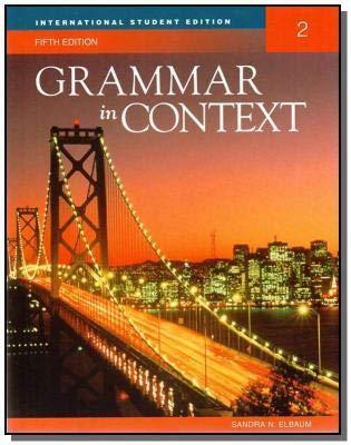 9781424082483: Grammar in Context 2