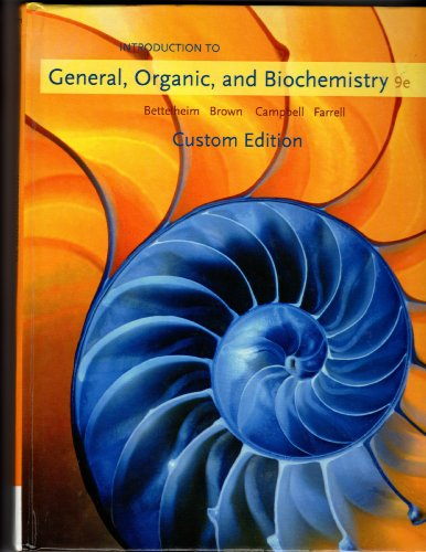 9781424085514: Intro to General, Organic, and Biochemistry