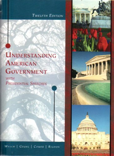 9781424085934: Understanding American Government with Presidential Speeches, 12th Edition