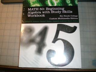 9781424086801: Acp Math 50: Beginning Algebra W/stdy Skills Wkbk Rio Hondo