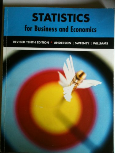 9781424086955: Statistics for Business and Economics (Revised Tenth Edition)