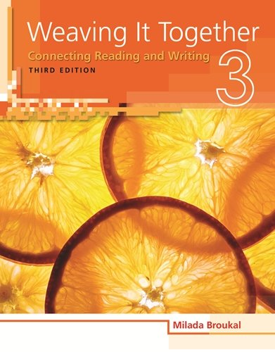 9781424087419: Weaving It Together 3: Audio CD (Weaving it Together: Connecting Reading and Writing)