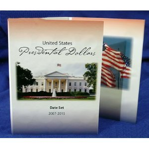 9781424307647: Presidential Dollar Date Set Folder (2007-2015)