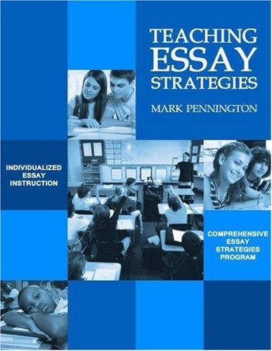 9781424310654: Teaching Essay Strategies