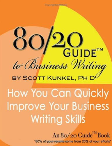 9781424315093: 80/20 Guide to Business Writing