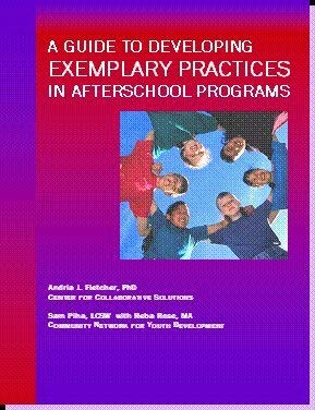 9781424319817: A Guide to Developing Exemplary Practices in Afterschool Programs