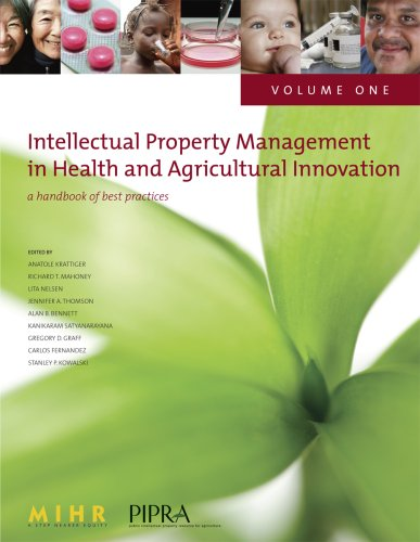 9781424320264: Intellectual Property Management in Health and Agricultural Innovation: A Handbook of Best Practices. Volume 1
