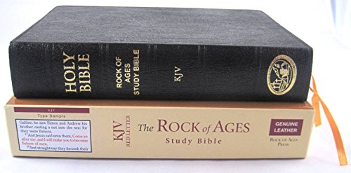 KJV The Rock of Ages Study Bible: Rock of Ages