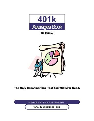 9781424334193: 401k Averages Book