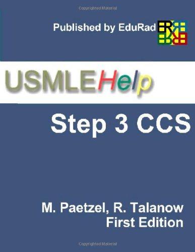 9781424340101: USMLE Help Step 3 CCS