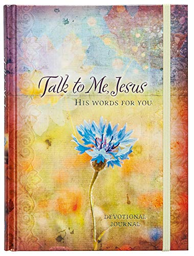 Talk to Me Jesus: His Words for You Devotional Journal: Marie Chapian