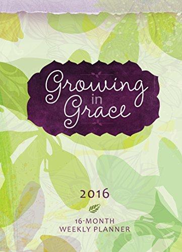 9781424550692: Growing in Grace 2016 Planner