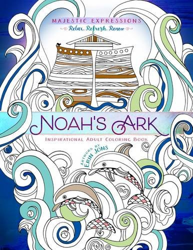 9781424551958: Noah's Ark: Coloring the Great Flood (Majestic Expressions)