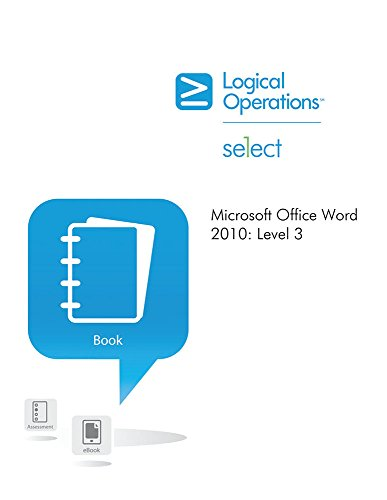 9781424615865: element K Microsoft Office Word 2010 Level 3 Student Manual