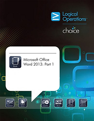 9781424620456: Microsoft Office Word 2013: Part 1
