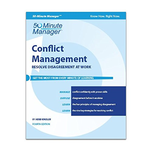 9781424623037: Conflict Management | 50-Minute Manager Series