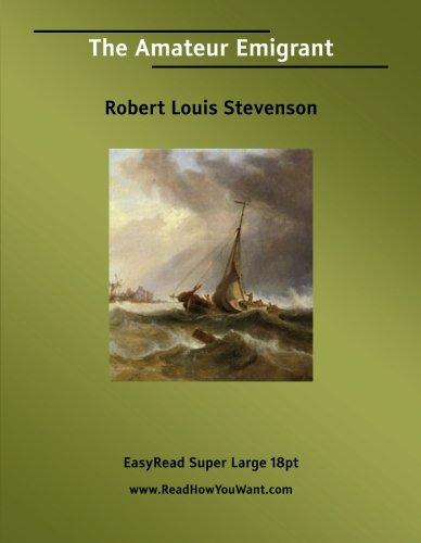 9781425011390: The Amateur Emigrant