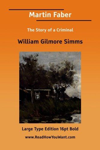 Martin Faber: William Gilmore Simms