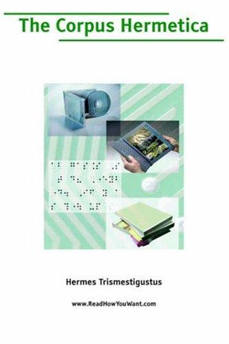 9781425019785: Corpus Hermetica, The (Large Print)