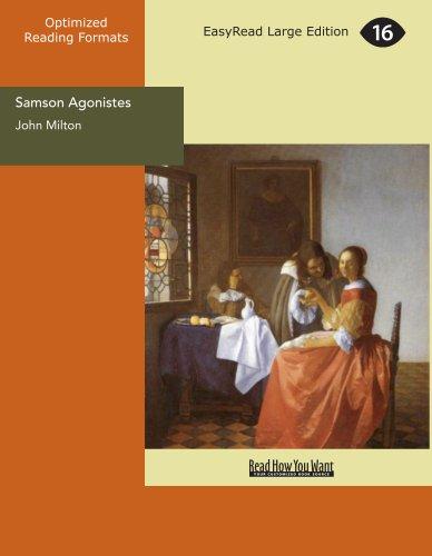 9781425031749: Samson Agonistes
