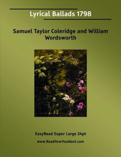 9781425044091: Lyrical Ballads 1798