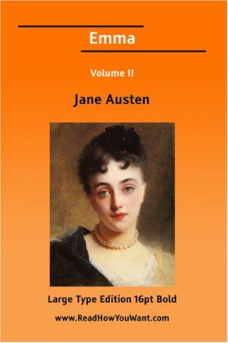 9781425046477: Emma Volume II (Large Print)