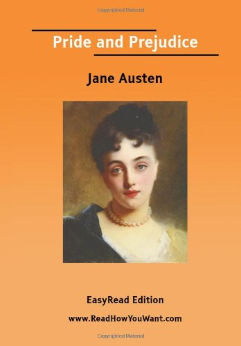 Pride and Prejudice (EasyRead Edition) (1425049745) by Jane Austen