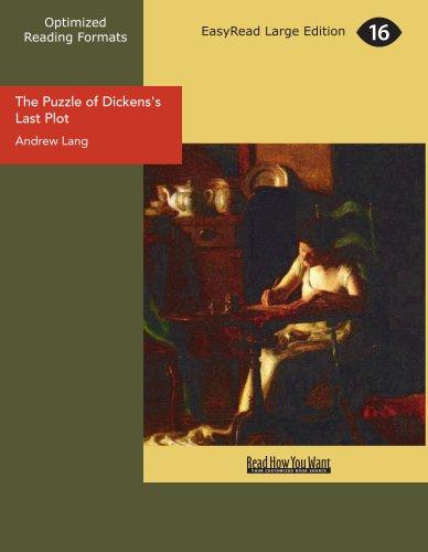 9781425065461: The Puzzle of Dickens's Last Plot
