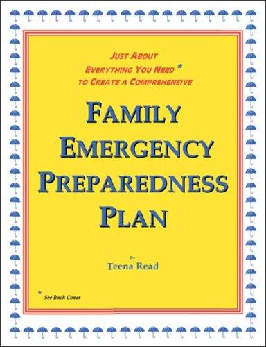 9781425100780: Family Emergency Preparedness Plan