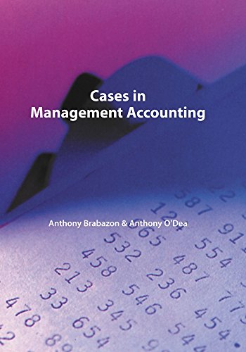 9781425114763: Cases In Management Accounting