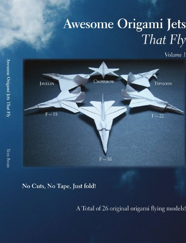 9781425134211: Awesome Origami Jets that Fly: Volume 1