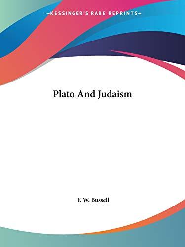 9781425315726: Plato and Judaism