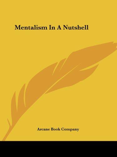 9781425323998: Mentalism In A Nutshell